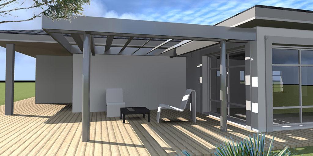 Extension Restructuration Maison, Cantenac (2013), Permis de construire, Marie-Pierre Amar Architecte DPLG, Le Pian Médoc