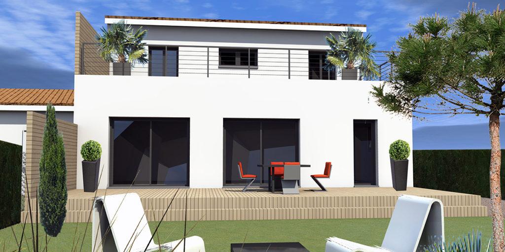 Extension Restructuration Maison, Bordeaux Cauderan (2016), Permis de construire, Marie-Pierre Amar Architecte DPLG, Le Pian Médoc