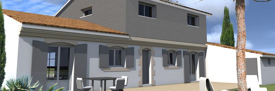 Extension Surélévation Maison, Le Pian Médoc (2012)