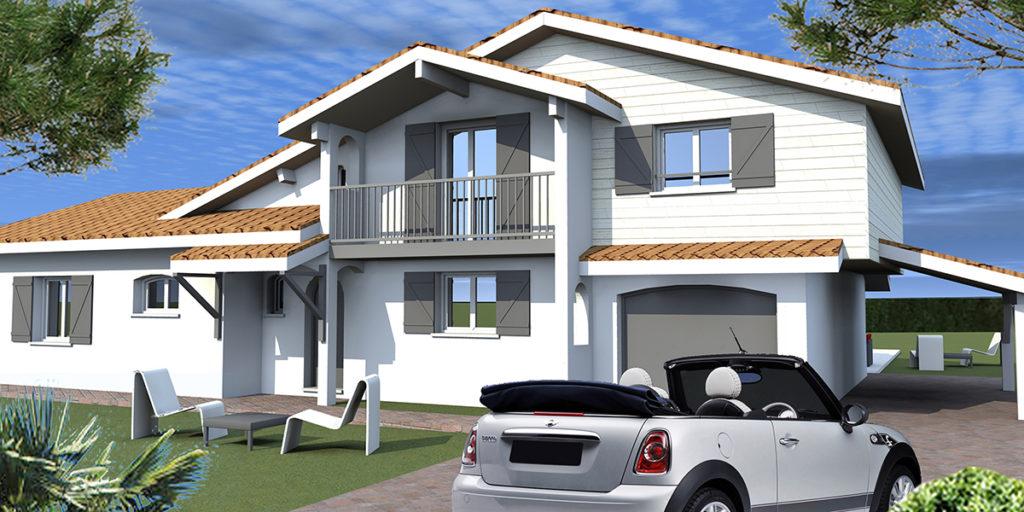 Surélévation Maison Individuelle, Blanquefort (2016), Permis de construire, Marie-Pierre Amar Architecte DPLG, Le Pian Médoc
