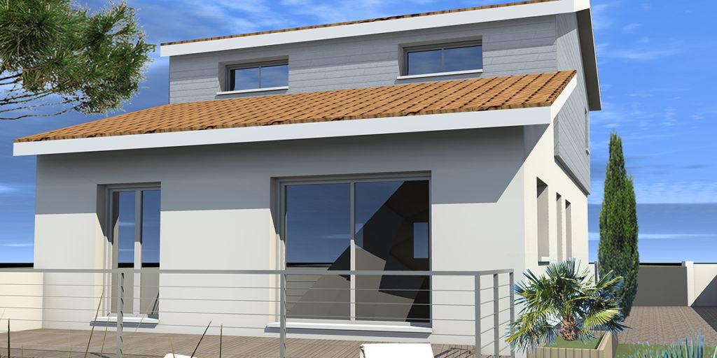 Surélévation Maison Individuelle, Le Taillan Médoc (2015), Permis de construire, Marie-Pierre Amar Architecte DPLG, Le Pian Médoc