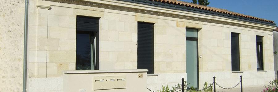 Rénovation Cabinet Paramédical, Blanquefort (2013)