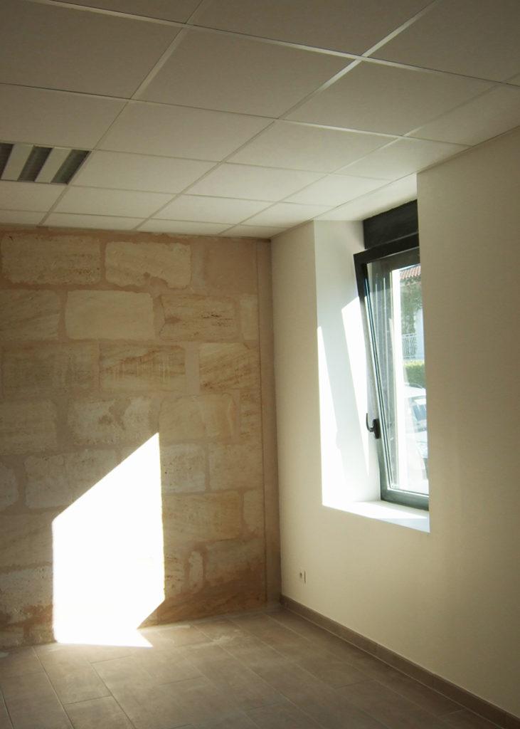 Rénovation Cabinet Paramédical, Blanquefort (2013), Permis de construire, Marie-Pierre Amar Architecte DPLG, Le Pian Médoc