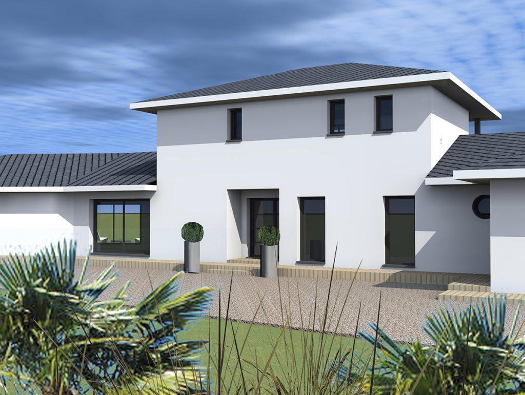 Construction Maison Individuelle, Le Pian Médoc (2013), marie-pierre amar architecte