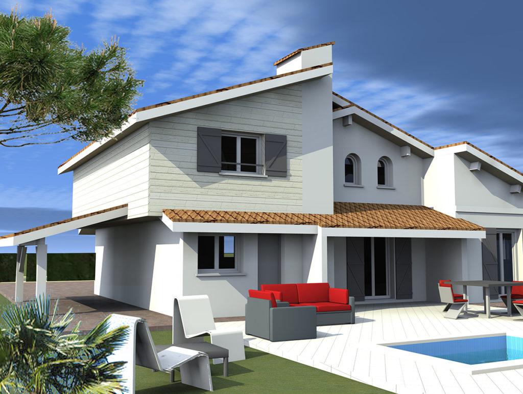 Surélévation Maison Individuelle, Blanquefort (2016), marie-pierre amar architecte