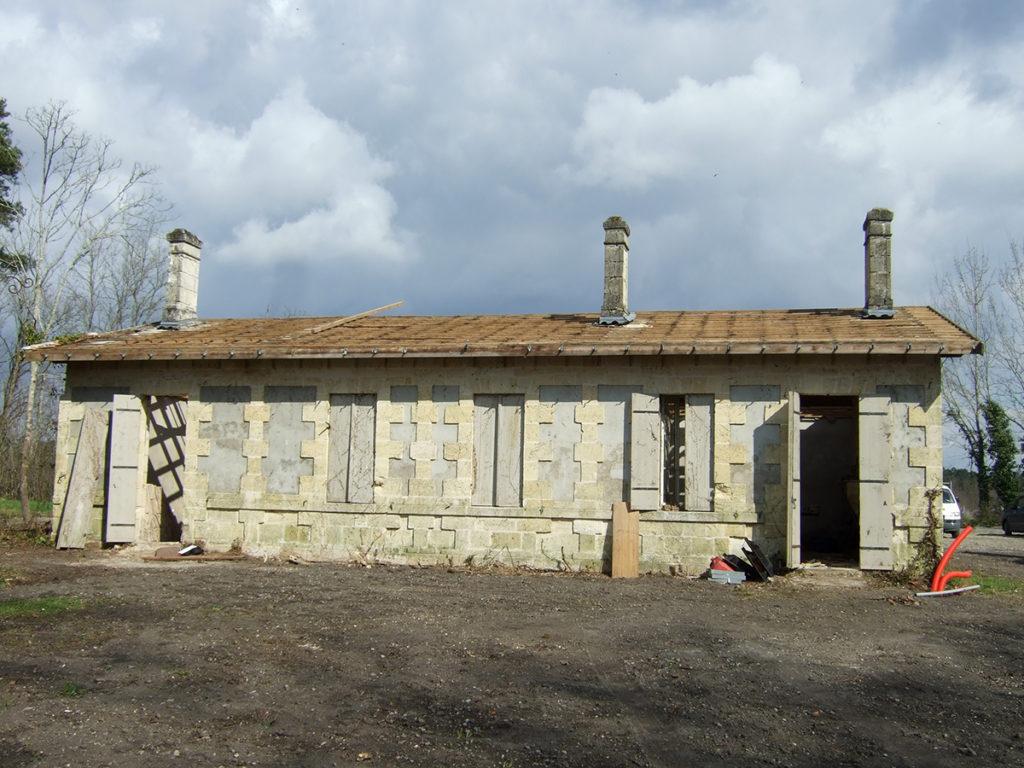 restructuration maison pierre le pian médoc 2017 marie-pierre amar architecte 01