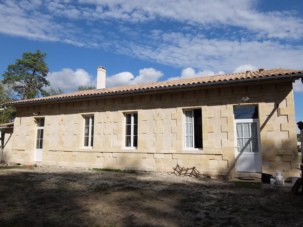 restructuration maison pierre le pian médoc 2017 marie-pierre amar architecte 02