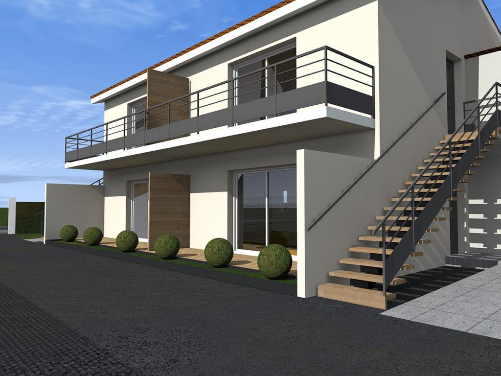 4 logements collectifs margaux 2018 marie-pierre amar architecte 01