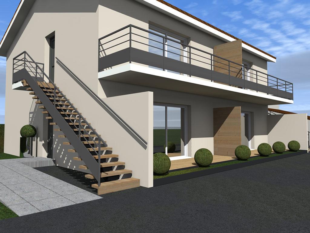 4 logements collectifs margaux 2018 marie-pierre amar architecte 02
