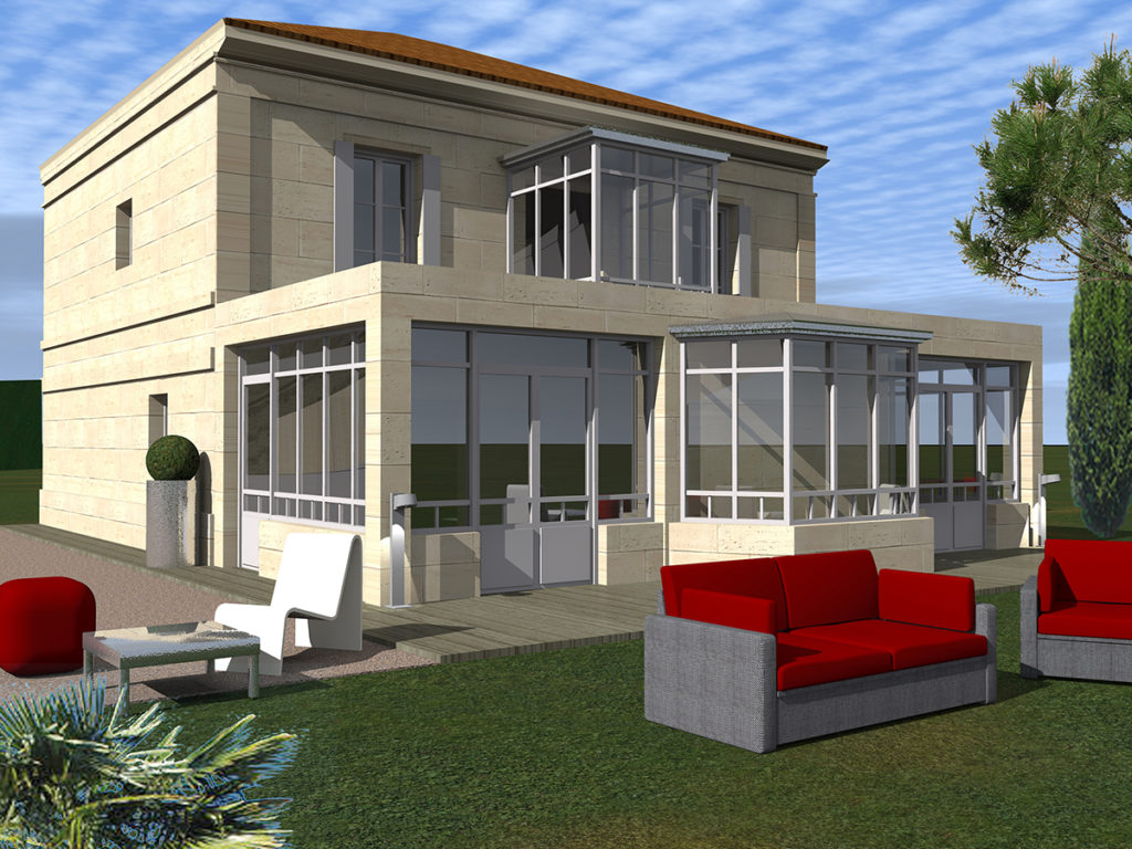 extension verrière le pian-médoc 2018 marie-pierre amar architecte 01