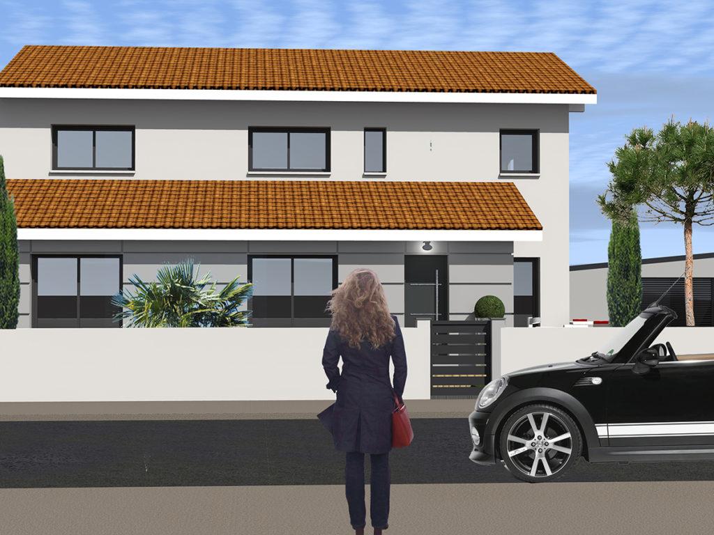 extension restructuration maison individuelle le bouscat 2019 marie-pierre amar architecte 02