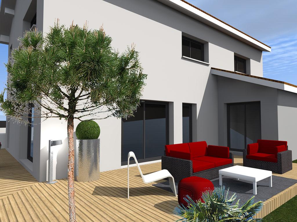 extension restructuration maison individuelle le bouscat 2019 marie-pierre amar architecte 01